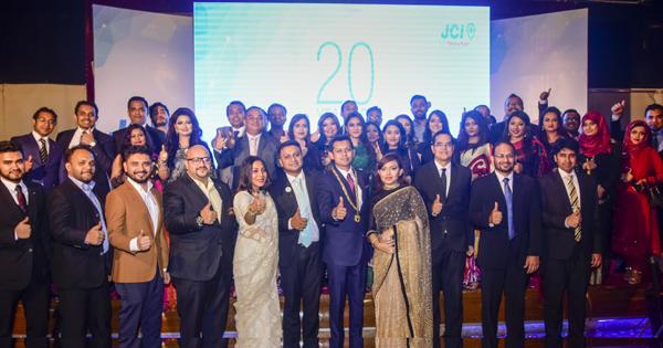20th founding anniversary of JCI Dhaka East held