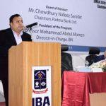 Padma Bank chairman inaugurates 34th batch of Evening MBA at IBA