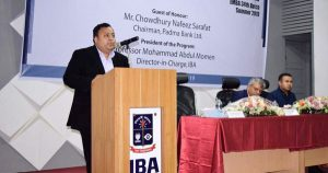 Padma Bank chairman inaugurates 34th batch of Evening MBA at IBA