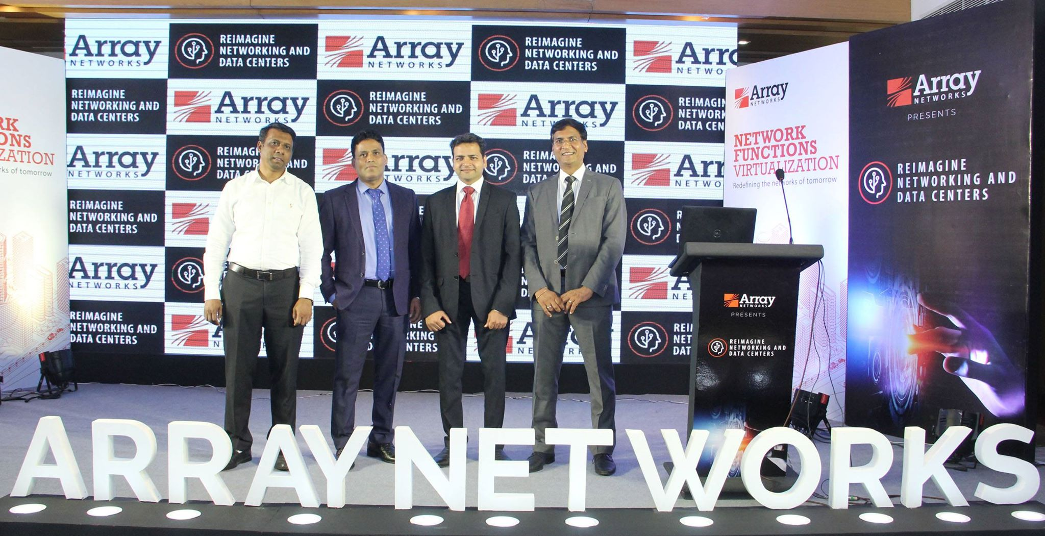 Array Networks organized 'Reimagine Networking and Data Centers Summit'