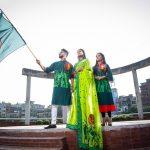 স্বাধীনতার পোশাকে সেজেছে 'রঙ বাংলাদেশ'