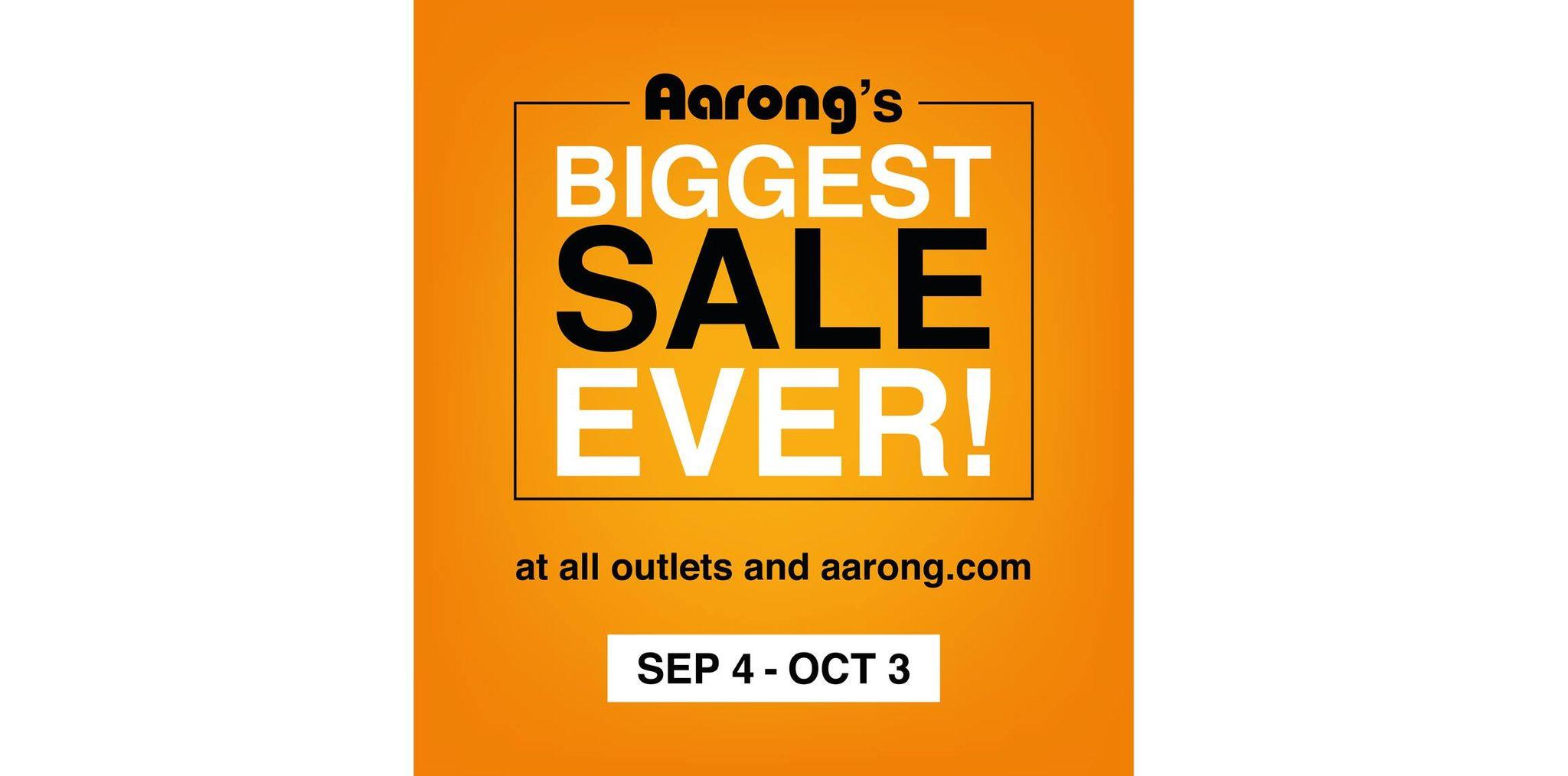 Aarong's Biggest Sale underway