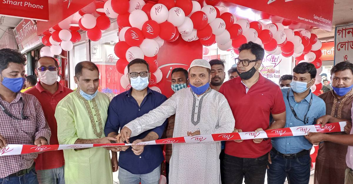itel Mobile Launches Two Brand Outlets in Bangladesh