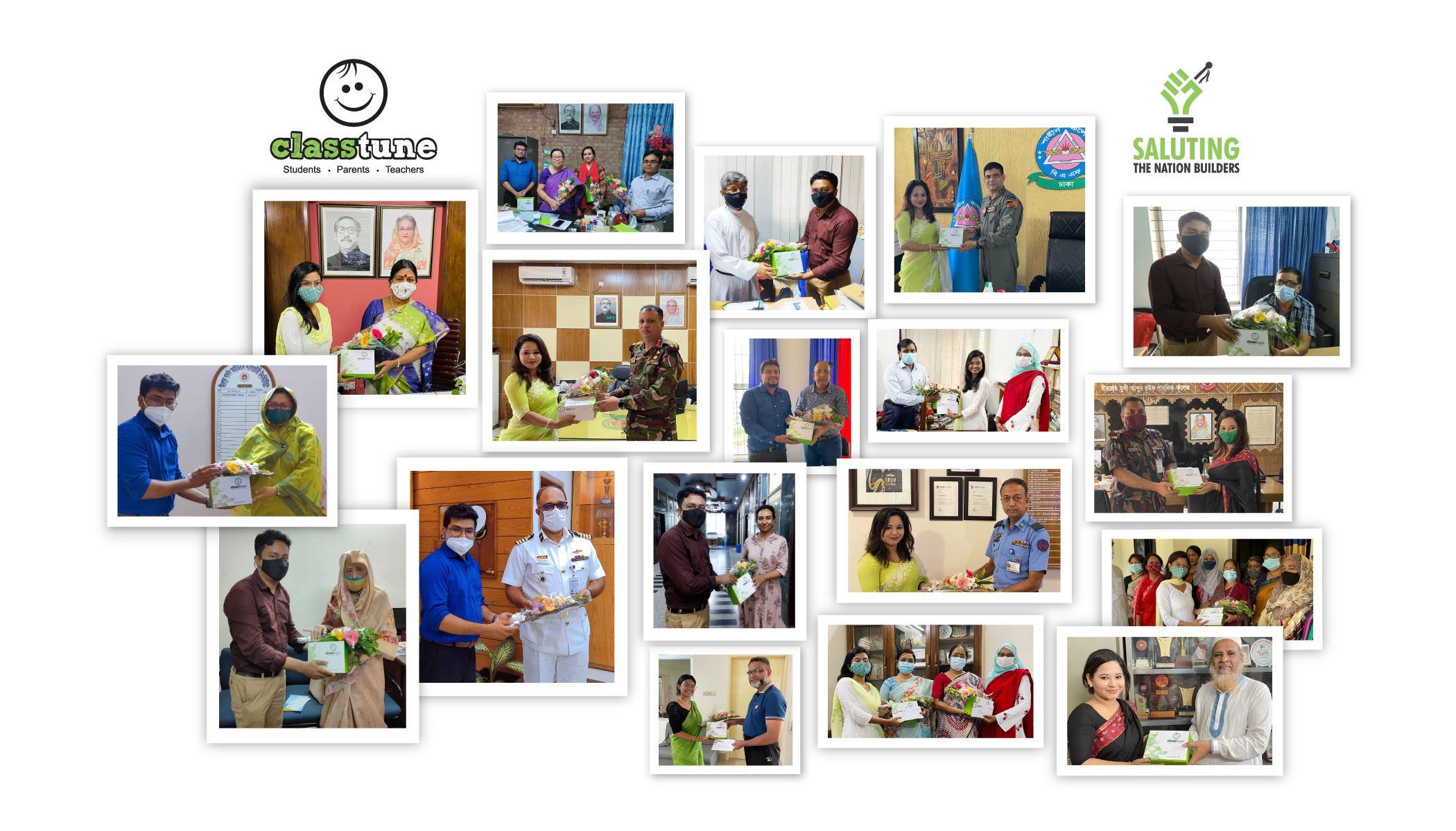 বিশ্ব শিক্ষক দিবস উদযাপন করছে ক্লাসটিউন