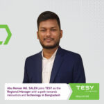 TESY names Abu Noman Md. SALEH for envisioning their brand in Bangladesh and the South and Southeast regions of Asia